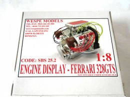 FERRARI 328GTS - DISPLAY ENGINE