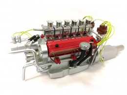FERRARI 250 TESTA ROSSA -1958 - DISPLAY ENGINE